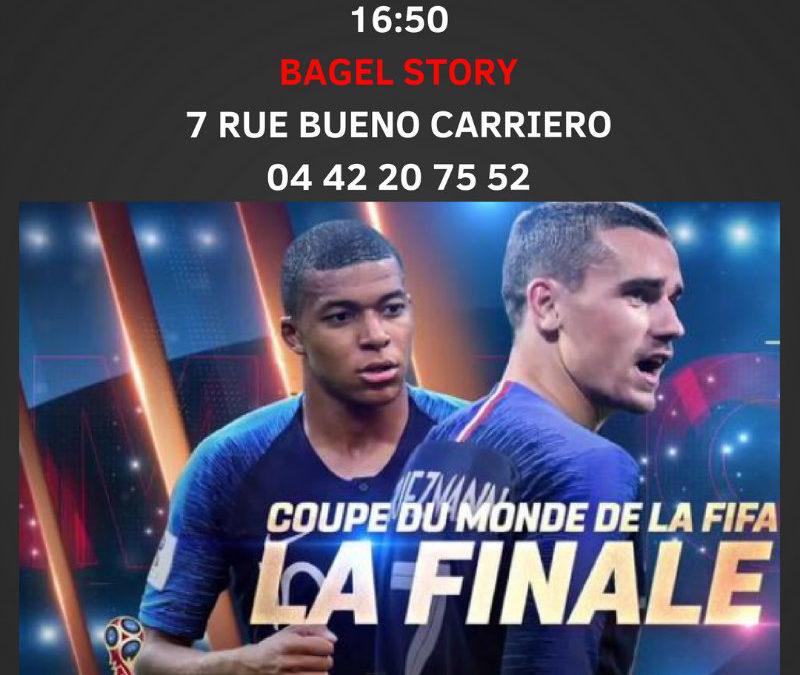 Finale coupe du monde 2018 - écran géant Aix en Provence
